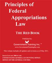 Principles of Federal Apporpriations Law Image